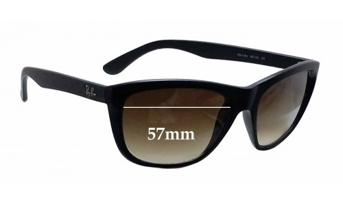 Ray Ban RB4154 New Sunglass Lenses - 57mm wide