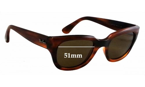 Ray Ban RB4178 Replacement Sunglass Lenses - 51mm wide