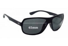 Ray Ban RB4192 Replacement Sunglass Lenses - 61mm wide