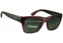 Ray Ban RB4194 Replacement Sunglass Lenses - 53mm Wide