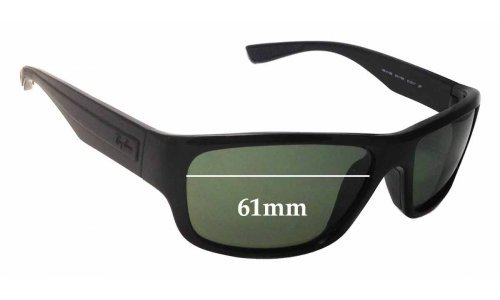 Ray Ban RB4196 Replacement Sunglass Lenses - 61mm Wide