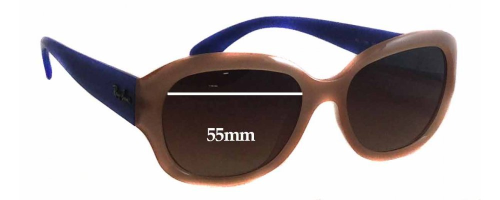 Ray Ban RB4198 Replacement Sunglass Lenses - 55mm Wide