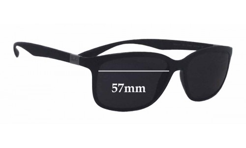 Ray Ban RB4215 Liteforce New Sunglass Lenses - 57mm wide