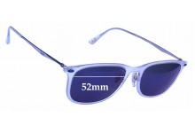 Ray Ban RB4225 LightRay Replacement Sunglass Lenses - 52mm wide