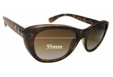 Ray Ban RB4227 Replacement Sunglass Lenses - 55mm wide