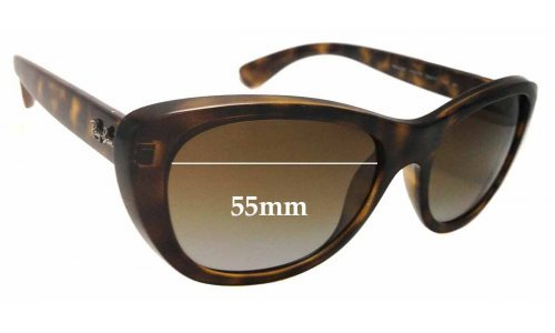 Ray Ban RB4227 New Sunglasss Lenses - 55mm wide