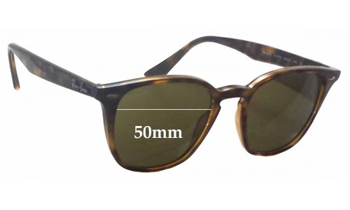 Ray Ban RB4258 Replacement Sunglass Lenses - 50mm wide