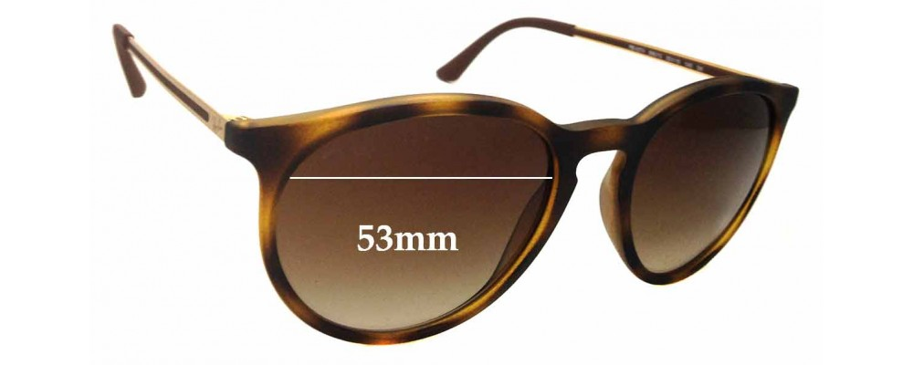 Sunglass Fix Replacement Lenses for Ray Ban RB4274 - 53mm Wide