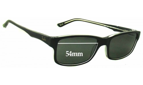 Sunglass Fix Replacement Lenses for Ray Ban RB5245 - 54mm wide