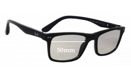 Sunglass Fix Replacement Lenses for Ray Ban RB5288 - 50mm wide