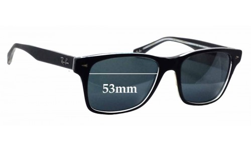 Ray Ban RB5308 Sunglass Replacement Lenses - 53mm wide
