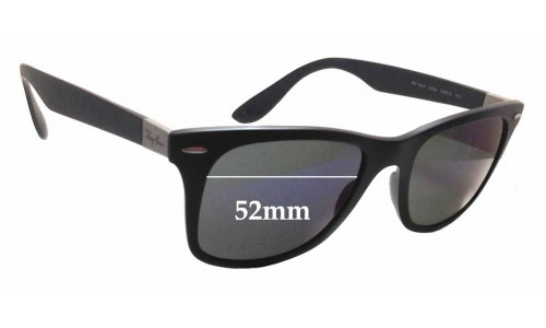 Ray Ban RB7034 Replacement Sunglass Lenses - 52mm wide