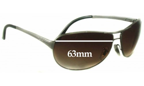 Ray Ban Warrior Replacement Sunglass Lenses RB3342 - 63mm wide
