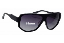 Reminence Apollo III Replacement Sunglass Lenses - 61mm wide