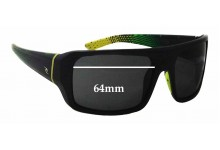 Rip Curl Grinders Replacement Sunglass Lenses - 64mm wide