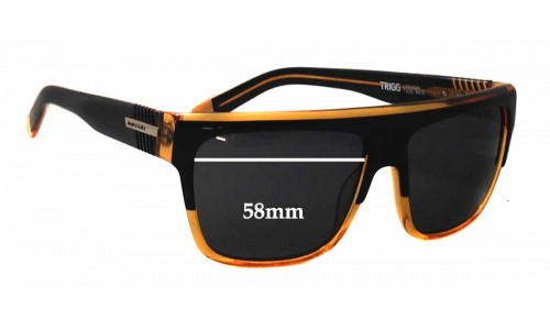Rip Curl Trigg Replacement Sunglass Lenses - 58mm Wide