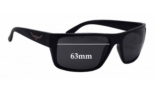 R.M. Williams Barwon Replacement Sunglass Lenses - 63mm wide