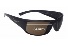 R.M. Williams Brooker Replacement Sunglass Lenses - 64mm wide