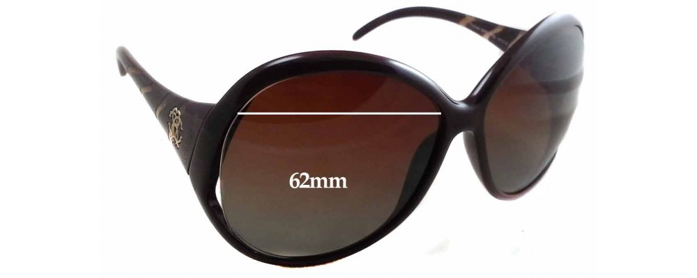 SFX Replacement Sunglass Lenses fits Roberto Cavalli Pegaso 338S 62mm Wide