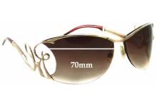 Roberto Cavalli Radamante 393S Replacement Sunglass Lenses - 70mm wide