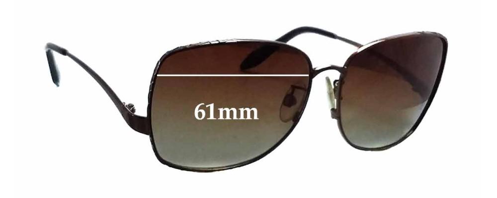 Roberto Cavalli Menta 660S Replacement Sunglass Lenses - 61mm wide