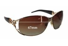 Roberto Cavalli Temi 376/S New Sunglass Lenses - 67mm wide