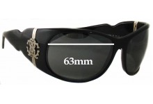 Sunglass Fix New Replacement Lenses for Roberto Cavalli Demodoco RC224S - 63mm Wide