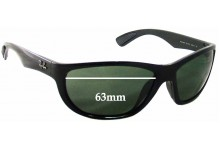 Ray Ban RB4188 Replacement Sunglass Lenses - 63mm wide