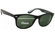 Ray Ban RB4207 Replacement Sunglass Lenses - 55mm Wide