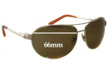 S4 JP Aviator Replacement Sunglass Lenses - 66mm Wide