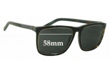 Saint Laurent SL2 New Sunglass Lenses - 58mm wide