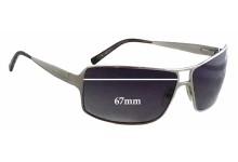 Salvatore Ferragamo 1098 Replacement Sunglass Lenses - 67mm wide