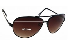Sunglass Fix Replacement Lenses for Serengeti Large Aviator - 60mm Wide