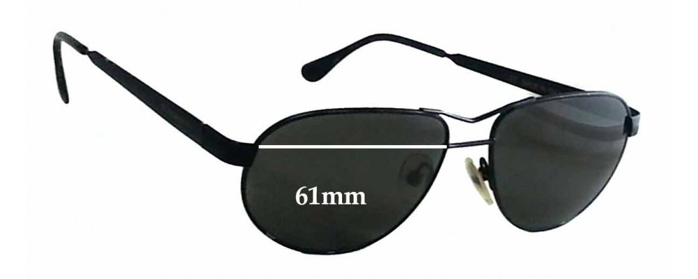 4e0d572566 Serengeti 6566 Replacement Sunglass Lenses - 61mm wide