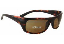 Sunglass Fix Replacement Lenses for Serengeti Cetera - 63mm wide