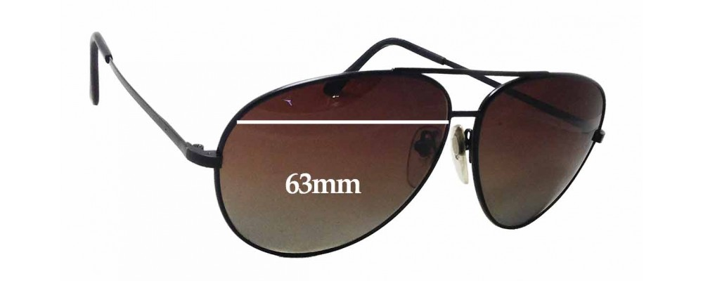 7e187f72dc Serengeti Drivers 5222C Replacement Sunglass Lenses - 63mm wide x 57mm tall