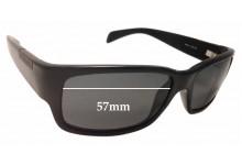Sunglass Fix Replacement Lenses for Serengeti Merano - 57mm wide