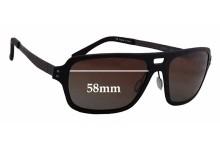 Sunglass Fix Replacement Lenses for Serengeti Nunzio - 58mm wide