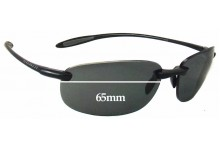 Sunglass Fix Replacement Lenses for Serengeti Nuvino - 65mm Wide