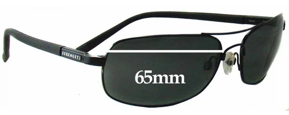 b9194d26148a Serengeti Rimini Replacement Lenses - 65mm wide