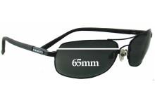Sunglass Fix Replacement Lenses for Serengeti Rimini - 65mm wide