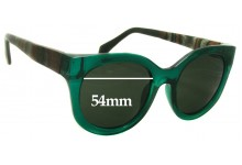 Silvano 54x20x146 New Sunglass Lenses - 54mm wide