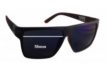 Sin Vespa Replacement Sunglass Lenses - 58mm wide - 48mm tall
