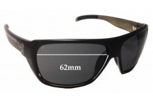 Smith Chief Replacement Sunglass Lenses 62mm wide