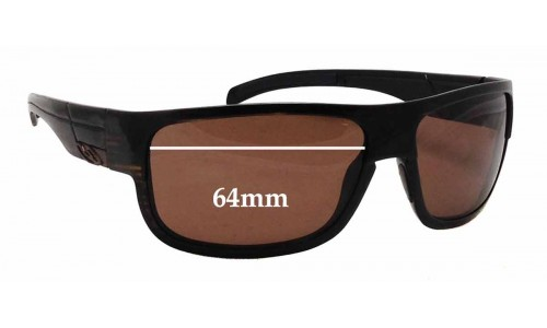 Smith Collective Replacement Sunglass Lenses - 64mm wide