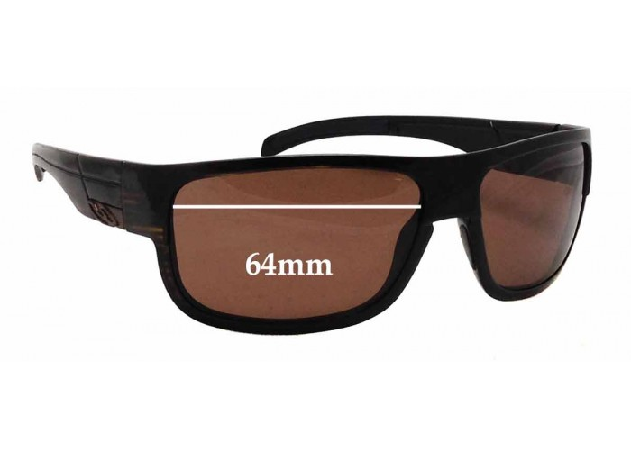 SFX Replacement Sunglass Lenses fits Smith Method 62mm Wide