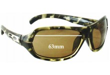Smith Prophet Replacement Sunglass Lenses - 63mm wide