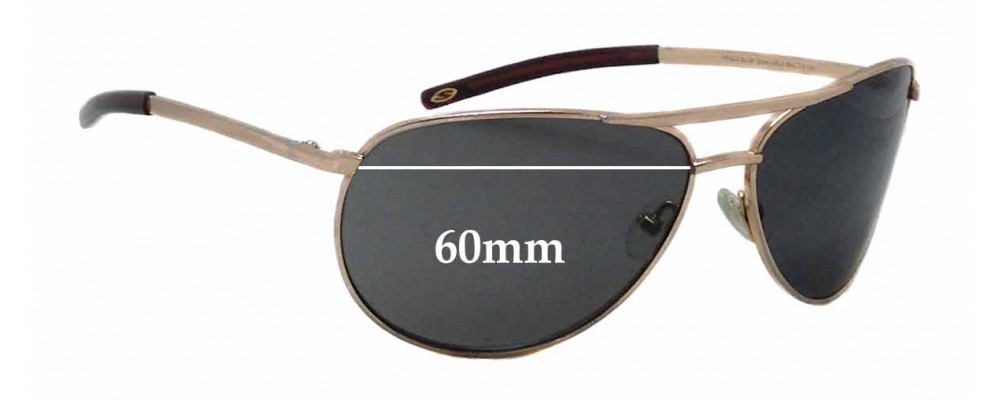 e9df0a78e87b8 Smith Serpico SLIM Replacement Sunglass Lenses - 60mm wide