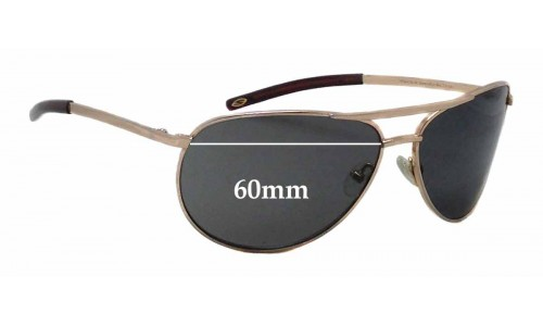 Smith Serpico SLIM Replacement Sunglass Lenses - 60mm wide