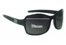 Smoke & Mirrors Flash Replacement Sunglass Lenses - 59mm Wide
